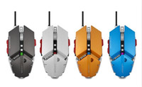 Wholesale 4000DPI Wired Gaming Mouse Buttons USB Mouse USB Wired Game Mice for Laptops Computer Mouse for Gamer