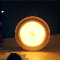 Wholesale PIR motion activated cordless led motion sensor human sensor light indoor led night light closet light sensor carbinet night light