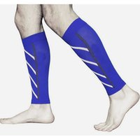 accessories compression - Pair Motion compression Leg Sleeves Calf Support Compression Leg Sleeve Sports Running Socks Outdoor Exercise H9