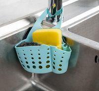 Wholesale Portable Home Kitchen Hanging Drain Bag Basket Bath Storage Tools Sink Holder