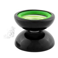 Wholesale Professional YoYo Metal Ball Bearing Reel Yo Yo Trick Gimmick Gift Kid Child Educational Toy Black Green