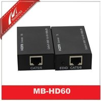 Wholesale HDMI Extender up to ft HDMI Over Ethernet HDMI Over IP