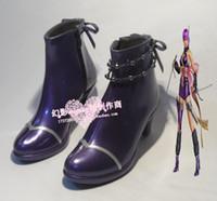 ayane cosplay - Ninja Gaiden AYANE cosplay shoes boots shoe boot HY049 Halloween