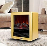 Wholesale electric fireplace flame simulation energy saving electrical heater Mini heater