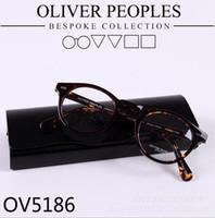 frames for glasses - Brand glasses Vintage optical glasses frame oliver peoples ov5186 eyeglasses Gregory peck ov eyeglasses for women and men eyewear frame
