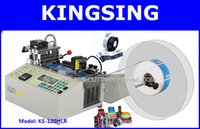 automatic machine services - High quality Automatic Label Cutting Machine KS HLR V by DHL FedEx door to door service