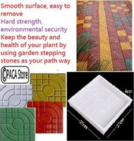 Wholesale Square Garden DIY Walking Path Maker Paving Cement Brick Mold create your own patios and walkways