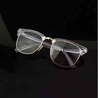 Wholesale New Brand Retro Clear Glasses Frame Transparent Optical Myopia Eyeglasses Frame
