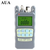 Wholesale All IN ONE Fiber optical power meter to dBm and mw km Fiber Optic Cable Tester Visual Fault Locator