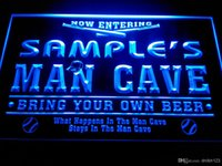 baseball man cave - DZ032 b Name Personalized Custom Man Cave Baseball Bar Beer Neon Sign