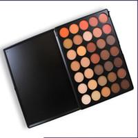 Wholesale Morphe Brushes palette color Natural Matte Eyeshadow palette E W P T O N OS P D