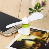 Wholesale USB Mini Fan For iPhone s s s plus S3 S4 S5 Note Micro USB Mobile Phone