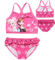 Wholesale DHL Factory Direct Elsa and Anna Swimwear Collection for Girls Pc