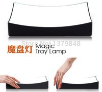ac help - Magic Tray LED Lamp Night Light Bedside Lamp Sensor Help you easy to find your glasses amp phone in the dark night