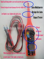 appliance tester - Tools Maintenance Care Code Readers Scan Tools Hot sell Automobile multimeter Electric Appliances for Decoration car tester signal detector