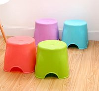 Wholesale creative fashion small Thick plastic stool outdoor children s Environmental protection child stool bench Fishing stool stool