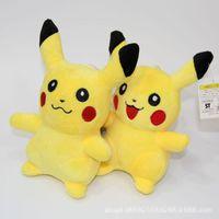 7.2 inch - 7 Inch cm Poke go Pikachu Plush dolls toys EMS NEW style children Charmander Jeni turtle Poke Ball Plush dolls toy