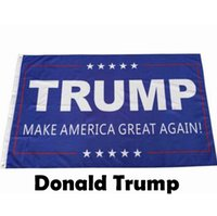 Wholesale Donald Trump x5 Foot Flag Make America Great Again Donald for President USA Election Flag cm