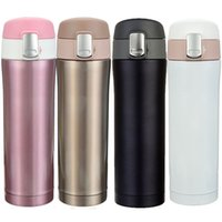 Wholesale Hot Sale ml ml Travel Mug Office Tea Coffee Water Cup Bottle Stainless Steel Insulation Cup Keep Hot And Cooling Color