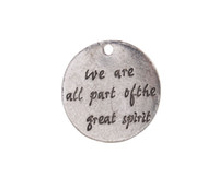 aphorism jewelry - New arrive Antiqued Silver Metal Vairous Aphorism Word Charm Pendants for DIY jewelry marking