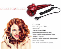 automatic coating machine - Automatic Rotating Hair Curler with Digital Display Hair wave roller Hair hair weave machine automatic wand curling iron