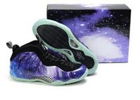 air penny mens - 2015 New mens basketball shoes air foamposites One Galaxy shoes Penny Hardaway lighted sports shoes for men Super sneakers