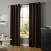 Wholesale Good Quality Modern Style Deep Brown Color Blackout roller blinds Curtain for Sale