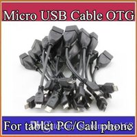 Wholesale OTG Cable Micro USB Audio Video For Tablet PC Samsung Lenovo ZTE Huawei Mi Notebook MP3 MP4 MP5 U Disk Adapter Cable C PS