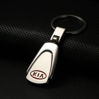 auto emblem shop - Car Logo Keychain Shop Styling Kia Emblem Keychain Auto Kirsite Key Rings Chain For Kia Sportage Ceed Cerato For Women Men