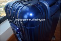 airport trolley - Clear Super Light Four Wheels Fashion Design and Colorful Transparent aluminum metal Trolley airport Luggage