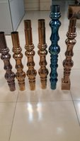 Wholesale Guangdong and direct marketingStainless steel columns Villa stair gourd column Stainless steel vase column