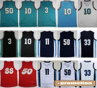 basketball sounds - Men Basketball Throwback Jerseys Uniforms Retro Basketball Shirt Sports With Player Name Team Logo Memphis Sounds Red Blue