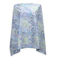 Wholesale 2016 New Arrival Baby Mum Breastfeeding Nursing Poncho Cover Up Cotton Blanket Shawl