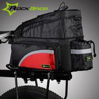 bag rack for bike - ROCKBROS Bicycle Rack Bag Accessories Travel Bag For Mountain Road Bike MTB Cycling Rear Back Seat Trunk Bag Panniers K6021