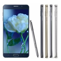 wholesale unlocked cell phones - 100 New Inch note5 Phones MTk6572 Dual Core Unlock PhoneCheap Cell Phone Factory directly Dual Camera Wifi WIth logo Sealed Box