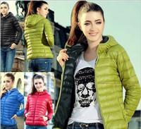 Wholesale 2016 womans clothing women clothes winter pure color fashion jacket zipper coat