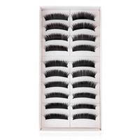 Wholesale 12mm False Eyelashes Pack Pairs Pack Beauty Natural Soft False Eyelashes Makeup Cosmetics Eyelashes Yz