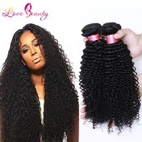 sewing machines - Bella Hair Unprocessed Virgin Brazillian Hair Kinky Curly Human Hair Weave Bundles Best Quality Sew Hair Extensions Weft Remy