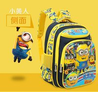 backpack suppliers - 45cm D Cute Despicable Me Children s School Backpack Supplier Schoolbag Minions Backpack For Boys Girls Pupil Shoulder Bag