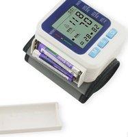 Wholesale Digital Arm Blood Pressure Pulse Monitors tonometer health care bp Blood Pressure Tester Monitor