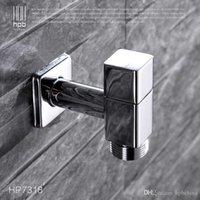 Wholesale Han Pai Brass G3 quot Garden Faucet Decorative Outdoor Faucets Washing Machine Connector Tap Bibcock Laundry Utility Faucets Robinet HP7318