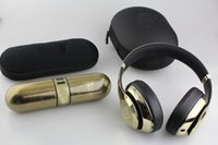Wholesale Limited Refurbished Studio Wireless Gold and Pill Portable Bluetooth Speaker Used Headphones With Seal Retail Box Free DHL
