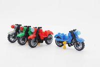 avengers motorcycle - KF037 Building Block Toy Avengers Mini Motor Motorcycle Vehicle Minifigures Assemble Single Action Model Children Bricks Toys Mini Figures