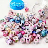 al por mayor cinta del cordón de diy-Venta al por mayor-10PCS / LOT Mini cinta de color DIY decorativos cinta adhesiva Cinta Adhesiva Cinta Adhesiva