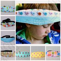 Wholesale 12 color KKA87 Safety Kids Car Seat Sleep Aid Head Support Holder Belt adjustable belt Kids Head Support Holder Belt Protect Belt