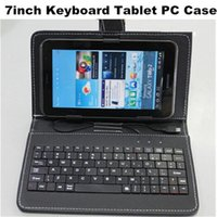 best android book - In Stock Oysters inch keyboard case Tablet PU Leather Book Cover Magnetic universal android case with keyboard Best Quality