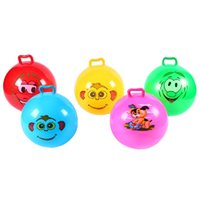 ball bouncer - Inflatable Hopping Jumping Ball Bouncer Hopper Handle Kids Outdoor Toy A00014 BRE