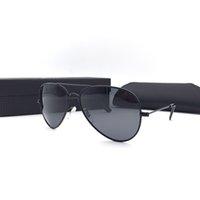 al por mayor los hombres gafas de sol polarizadas originales-Gafas de sol polarizadas clásicas Hombre Mujer Marca Diseñador Gafas de sol con caja original gafas de sol oculos