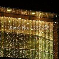 Wholesale 2015 Top Fasion Real Cheap Sale Rgb Lights Flashlight led Outdoor Christmas Xmas String Wedding Curtain Light v mx3m