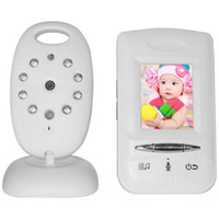 Wholesale GHz Wireless Digital System inch Color LCD Baby Monitor Security Camera Audio Video Melody Night Vision